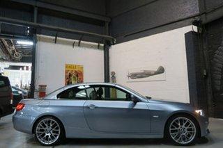 2010 BMW 320d E93 MY11 Blue 6 Speed Manual Convertible.