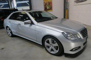 2010 Mercedes-Benz E250 CGI W212 Avantgarde Silver 5 Speed Sports Automatic Sedan