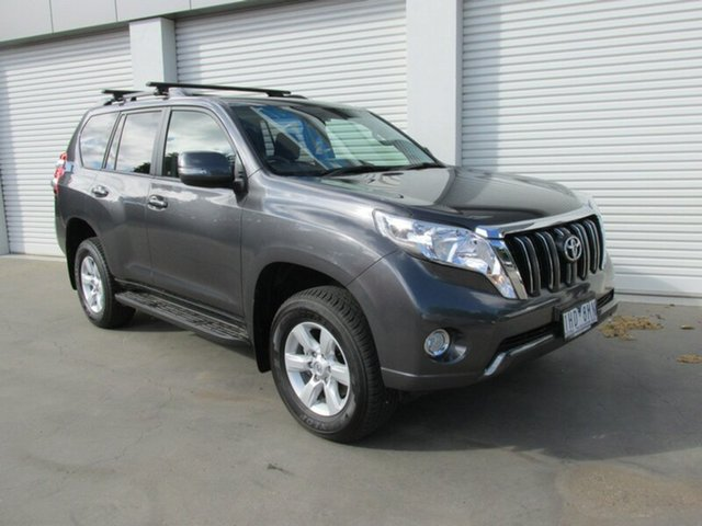 Used Toyota Landcruiser Prado GDJ150R GXL, 2016 Toyota Landcruiser Prado GDJ150R GXL Grey 6 Speed Sports Automatic Wagon