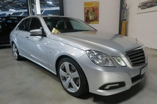 2010 Mercedes-Benz E250 CGI W212 Avantgarde Silver 5 Speed Sports Automatic Sedan.