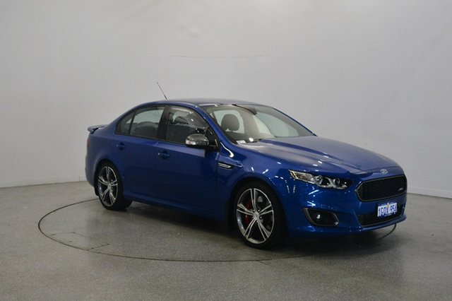 Used Ford Falcon FG X XR8, 2015 Ford Falcon FG X XR8 Blue 6 Speed Manual Sedan