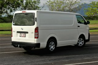 2012 Toyota Hiace KDH201R MY11 LWB White 5 Speed Manual Van
