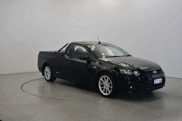 Used Ford Falcon FG MkII XR6 Super Cab, 2013 Ford Falcon FG MkII XR6 Super Cab Black 6 Speed Manual Cab Chassis