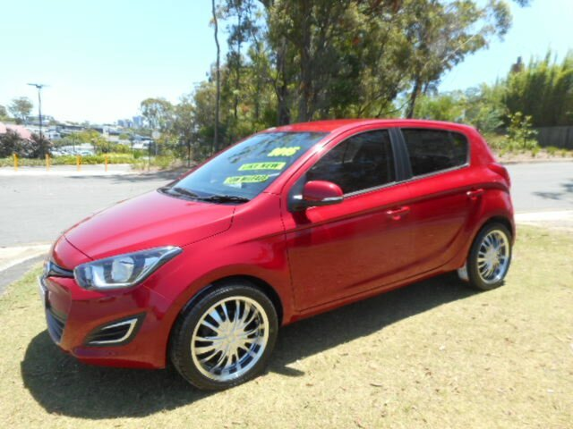 Used Hyundai i20 PB MY14 Active Southport, 2015 Hyundai i20 PB MY14 Active 4 Speed Automatic Hatchback