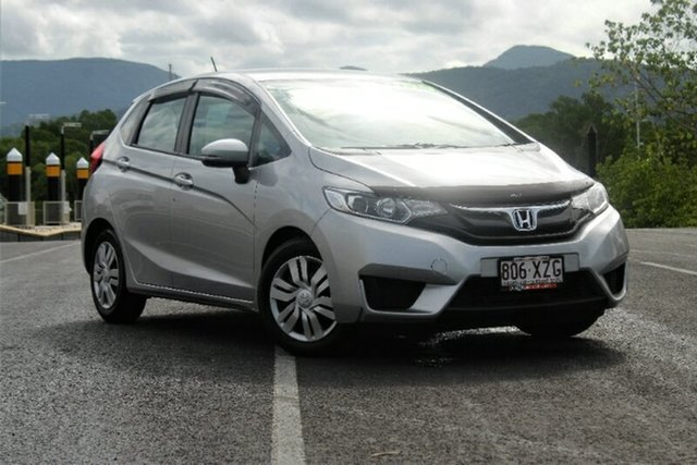 Used Honda Jazz GF MY15 VTi, 2015 Honda Jazz GF MY15 VTi Silver 5 Speed Manual Hatchback
