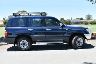 1998 Toyota Landcruiser FZJ105R GXL Blue 4 Speed Automatic Wagon