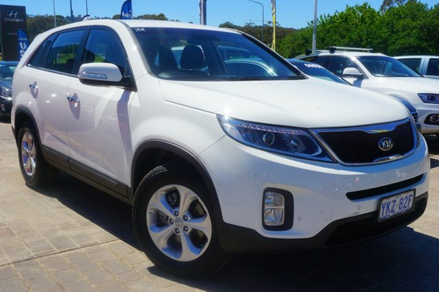 Used Kia Sorento XM MY14 SI, 2014 Kia Sorento XM MY14 SI White 6 Speed Sports Automatic Wagon