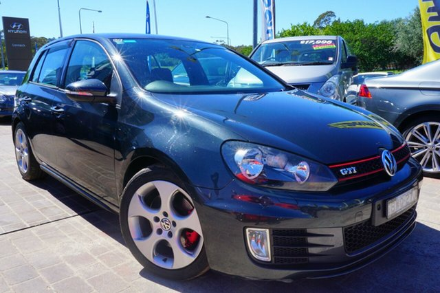 Used Volkswagen Golf VI MY11 GTI DSG, 2011 Volkswagen Golf VI MY11 GTI DSG Grey 6 Speed Sports Automatic Dual Clutch Hatchback