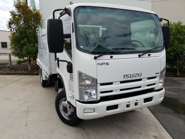Used Isuzu NPS300 NH , 2012 Isuzu NPS300 NH White Tray 5.2l 4WD