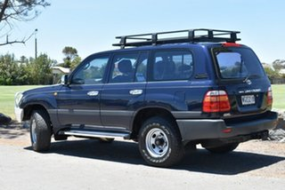 1998 Toyota Landcruiser FZJ105R GXL Blue 4 Speed Automatic Wagon.