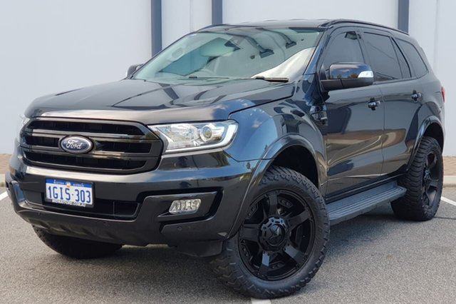 Used Ford Everest UA Trend 4WD, 2016 Ford Everest UA Trend 4WD Black 6 Speed Sports Automatic Wagon