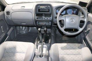 2005 Nissan Navara D22 Series 2 DX (4x4) Silver 5 Speed Manual 4x4 Dual Cab Pick-up