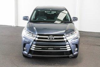 2017 Toyota Kluger GSU55R GX AWD Cosmos Blue 8 Speed Sports Automatic Wagon.