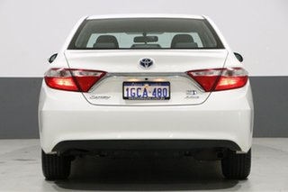 2016 Toyota Camry AVV50R MY15 Altise Hybrid White Continuous Variable Sedan