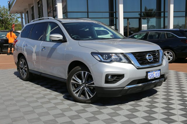 Used Nissan Pathfinder R52 Series II MY17 Ti X-tronic 4WD, 2018 Nissan Pathfinder R52 Series II MY17 Ti X-tronic 4WD Silver 1 Speed Constant Variable Wagon