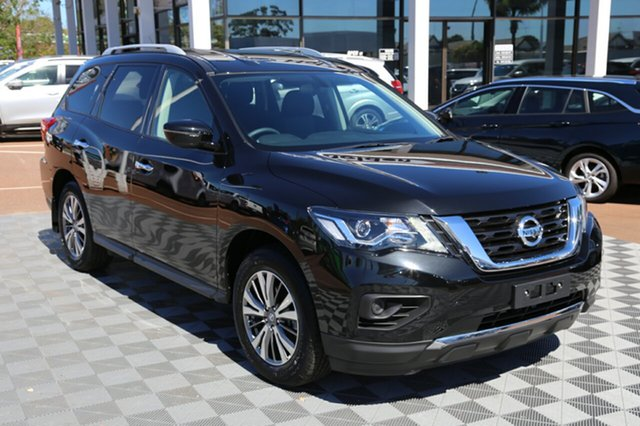 Used Nissan Pathfinder R52 Series II MY17 ST X-tronic 4WD, 2018 Nissan Pathfinder R52 Series II MY17 ST X-tronic 4WD Black 1 Speed Constant Variable Wagon