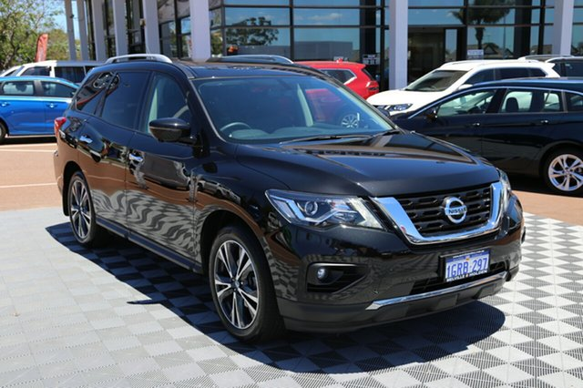 Used Nissan Pathfinder R52 Series II MY17 Ti X-tronic 4WD, 2018 Nissan Pathfinder R52 Series II MY17 Ti X-tronic 4WD Black 1 Speed Constant Variable Wagon