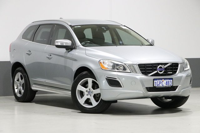 Used Volvo XC60 DZ MY11 D5 R-Design, 2011 Volvo XC60 DZ MY11 D5 R-Design Silver 6 Speed Automatic Geartronic Wagon