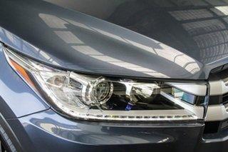 2017 Toyota Kluger GSU55R GX AWD Cosmos Blue 8 Speed Sports Automatic Wagon
