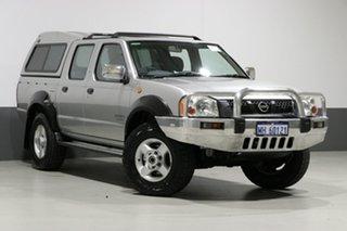 2005 Nissan Navara D22 Series 2 DX (4x4) Silver 5 Speed Manual 4x4 Dual Cab Pick-up.