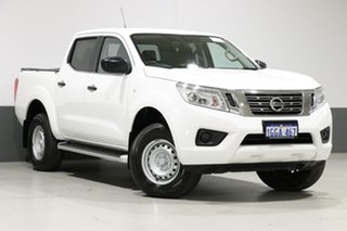 2017 Nissan Navara D23 Series II SL (4x4) White 6 Speed Manual Dual Cab Utility.