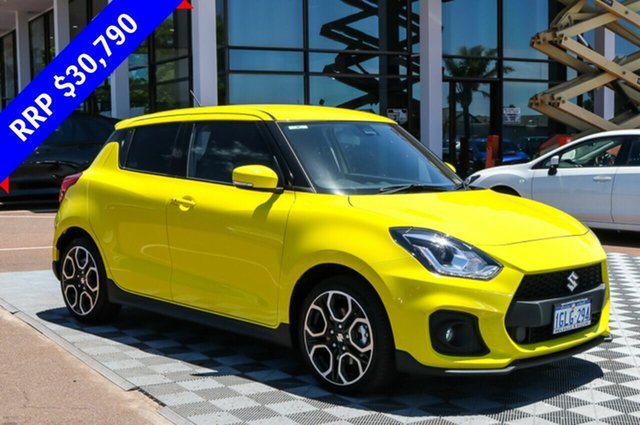 Demo Suzuki Swift AZ Sport, 2018 Suzuki Swift AZ Sport Champion Yellow 6 Speed Manual Hatchback