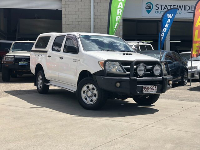 Used Toyota Hilux KUN26R MY08 SR, 2007 Toyota Hilux KUN26R MY08 SR White 5 Speed Manual Cab Chassis