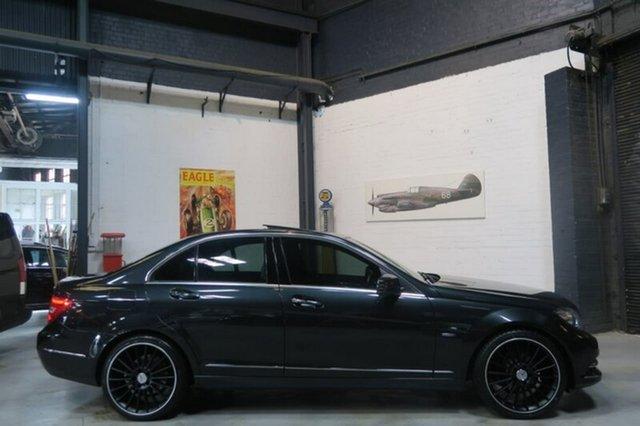 Used Mercedes-Benz C250 W204 MY11 BlueEFFICIENCY 7G-Tronic + Avantgarde, 2011 Mercedes-Benz C250 W204 MY11 BlueEFFICIENCY 7G-Tronic + Avantgarde Black 7 Speed