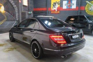 2011 Mercedes-Benz C250 W204 MY11 BlueEFFICIENCY 7G-Tronic + Avantgarde Black 7 Speed