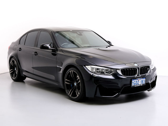 Used BMW M3 F80 MY15 , 2015 BMW M3 F80 MY15 Black 7 Speed Auto Dual Clutch Sedan