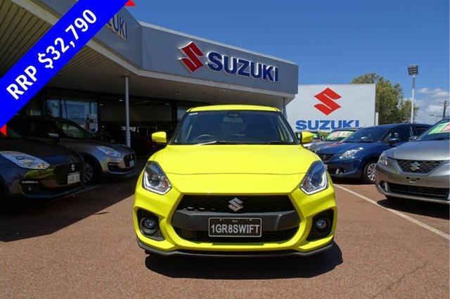 Demo Suzuki Swift AZ Sport, 2018 Suzuki Swift AZ Sport Champion Yellow 6 Speed Sports Automatic Hatchback