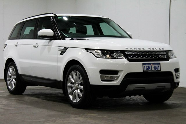 Used Land Rover Range Rover Sport L494 15.5MY SDV8 CommandShift HSE, 2015 Land Rover Range Rover Sport L494 15.5MY SDV8 CommandShift HSE White 8 Speed Sports Automatic