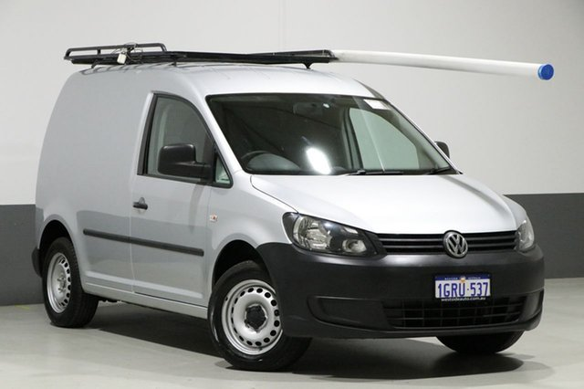 Used Volkswagen Caddy 2K MY14 TSI160, 2014 Volkswagen Caddy 2K MY14 TSI160 Silver 5 Speed Manual Van