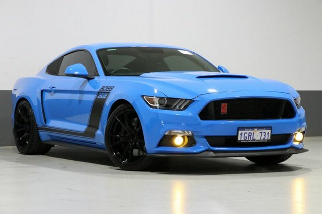 Used Ford Mustang FM MY17 Fastback GT 5.0 V8, 2017 Ford Mustang FM MY17 Fastback GT 5.0 V8 Blue 6 Speed Manual Coupe