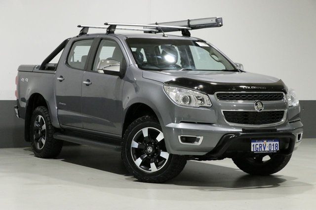 Used Holden Colorado RG MY16 Storm (4x4), 2016 Holden Colorado RG MY16 Storm (4x4) Grey 6 Speed Automatic Crew Cab Pickup