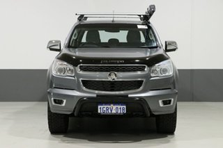2016 Holden Colorado RG MY16 Storm (4x4) Grey 6 Speed Automatic Crew Cab Pickup.