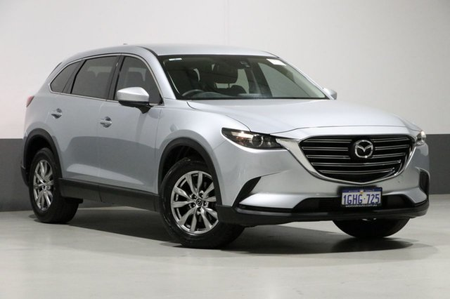 Used Mazda CX-9 MY18 Sport (awd), 2017 Mazda CX-9 MY18 Sport (awd) Silver 6 Speed Automatic Wagon