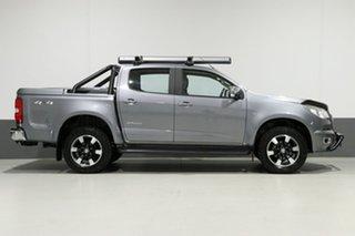 2016 Holden Colorado RG MY16 Storm (4x4) Grey 6 Speed Automatic Crew Cab Pickup