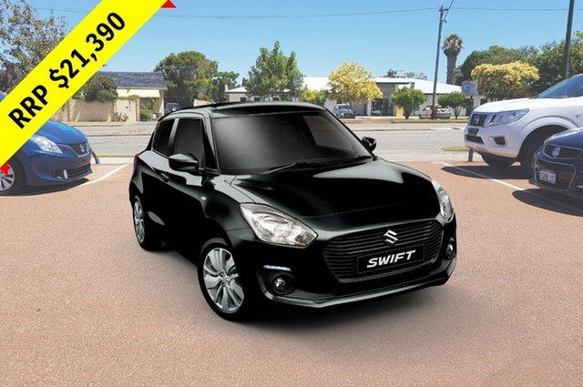 Demo Suzuki Swift AZ GL Navigator, 2018 Suzuki Swift AZ GL Navigator Super Black 1 Speed Constant Variable Hatchback