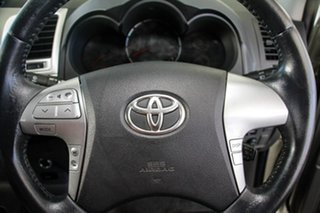 2013 Toyota Hilux KUN26R MY12 SR5 Double Cab Sterling Silver 4 Speed Automatic Utility
