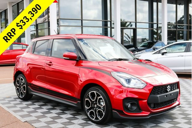 New Suzuki Swift AZ Sport, 2018 Suzuki Swift AZ Sport Burn Red 6 Speed Sports Automatic Hatchback