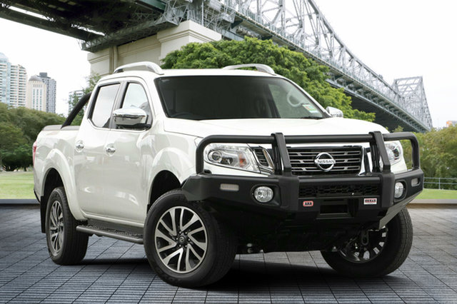 Demo Nissan Navara D23 S3 ST-X, 2018 Nissan Navara D23 S3 ST-X White Diamond 7 Speed Sports Automatic Utility