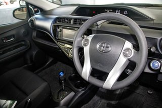 2017 Toyota Prius c NHP10R E-CVT Silver Pearl 1 Speed Constant Variable Hatchback Hybrid