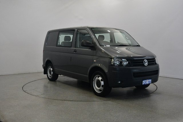 Used Volkswagen Transporter T5 MY12 TDI340 LWB DSG, 2011 Volkswagen Transporter T5 MY12 TDI340 LWB DSG Grey 7 Speed Sports Automatic Dual Clutch Van