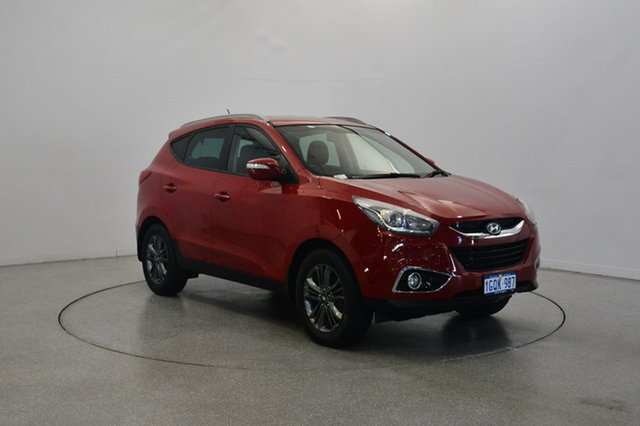 Used Hyundai ix35 LM3 MY14 SE, 2014 Hyundai ix35 LM3 MY14 SE Red 6 Speed Sports Automatic Wagon