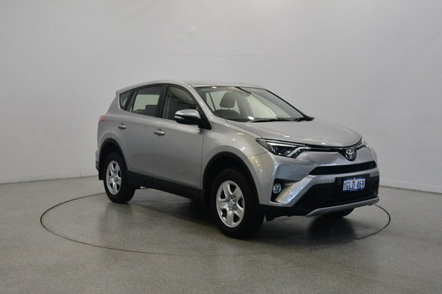 Used Toyota RAV4 ZSA42R GX 2WD, 2017 Toyota RAV4 ZSA42R GX 2WD Silver 7 Speed Constant Variable Wagon