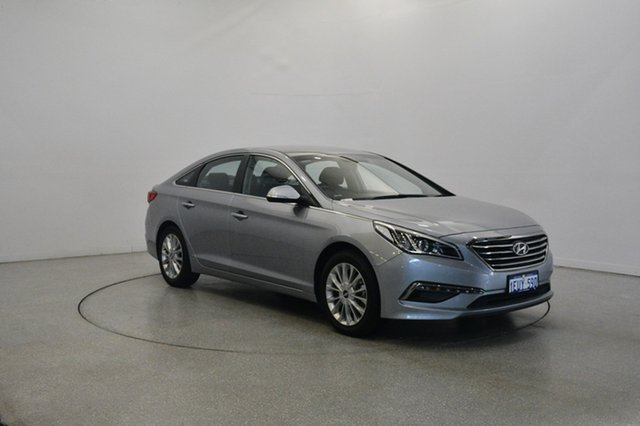 Used Hyundai Sonata LF Active, 2015 Hyundai Sonata LF Active Silver 6 Speed Sports Automatic Sedan