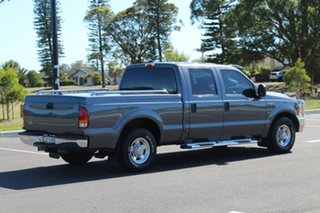 2002 Ford F250 RM XLT Grey 4 Speed Automatic Crew Cab Pickup.