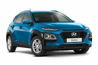 2018 Hyundai Kona OS MY18 Active D-CT AWD Blue Lagoon 7 Speed Sports Automatic Dual Clutch Wagon