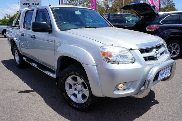 Used Mazda BT-50 UNY0E4 DX 4x2, 2009 Mazda BT-50 UNY0E4 DX 4x2 Silver 5 Speed Manual Utility